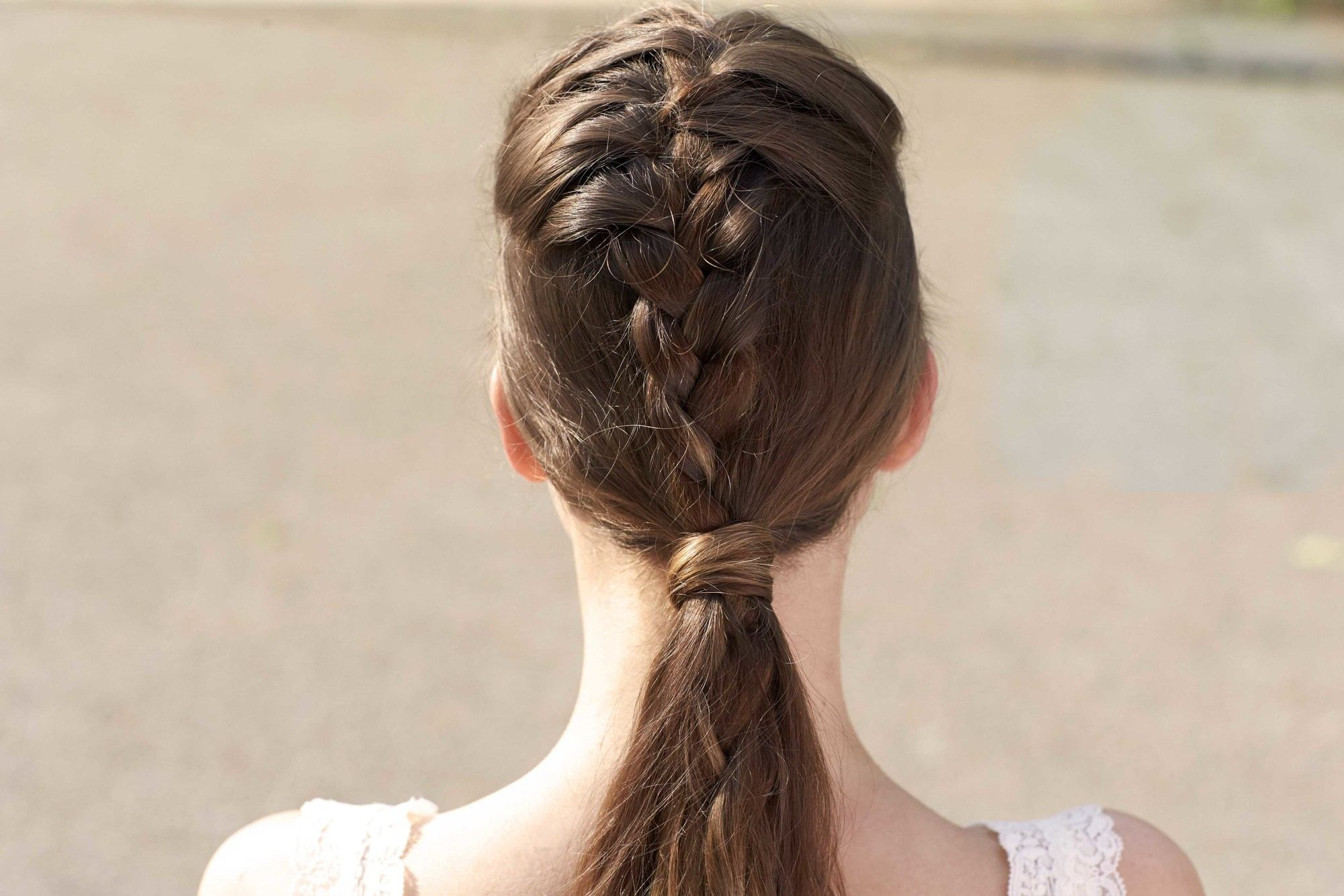 french braid hairstyles to wear over the weekend braided ponytail