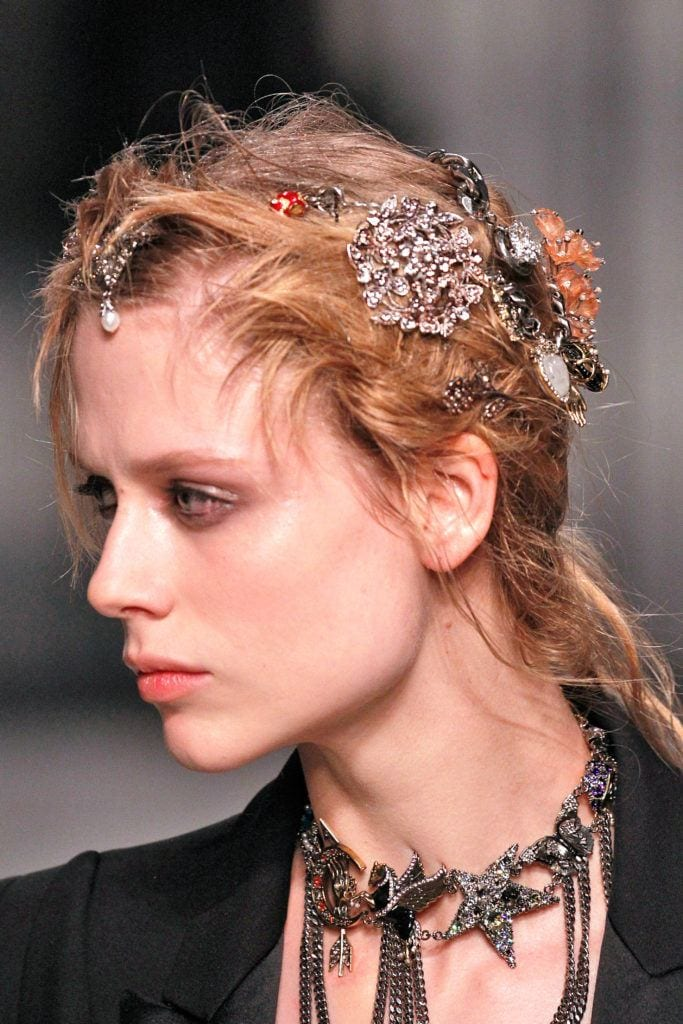 bold hair accessories all over clips