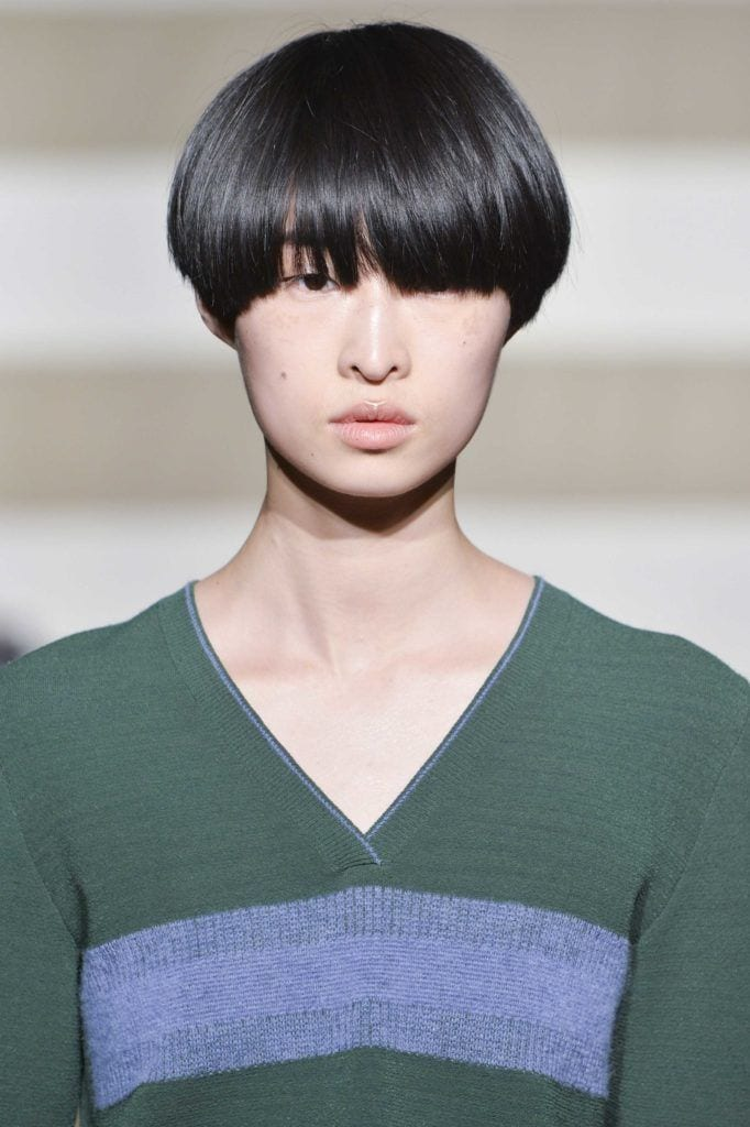 androgynous haircuts to try such as the bowl cut