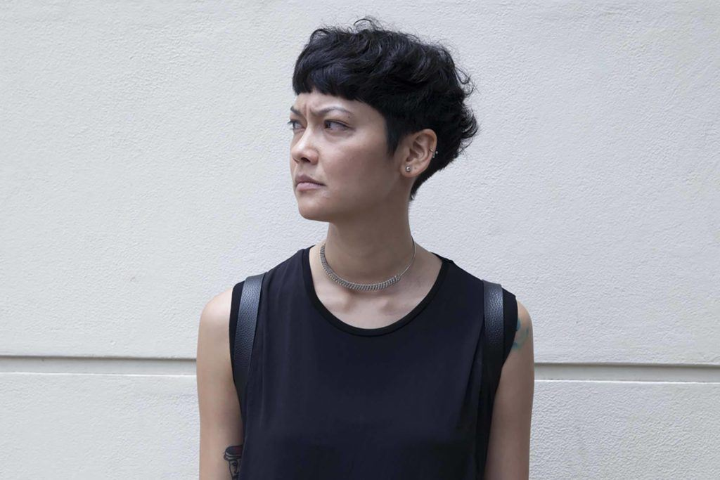 androgynous haircuts to try such as the mushroom haircut