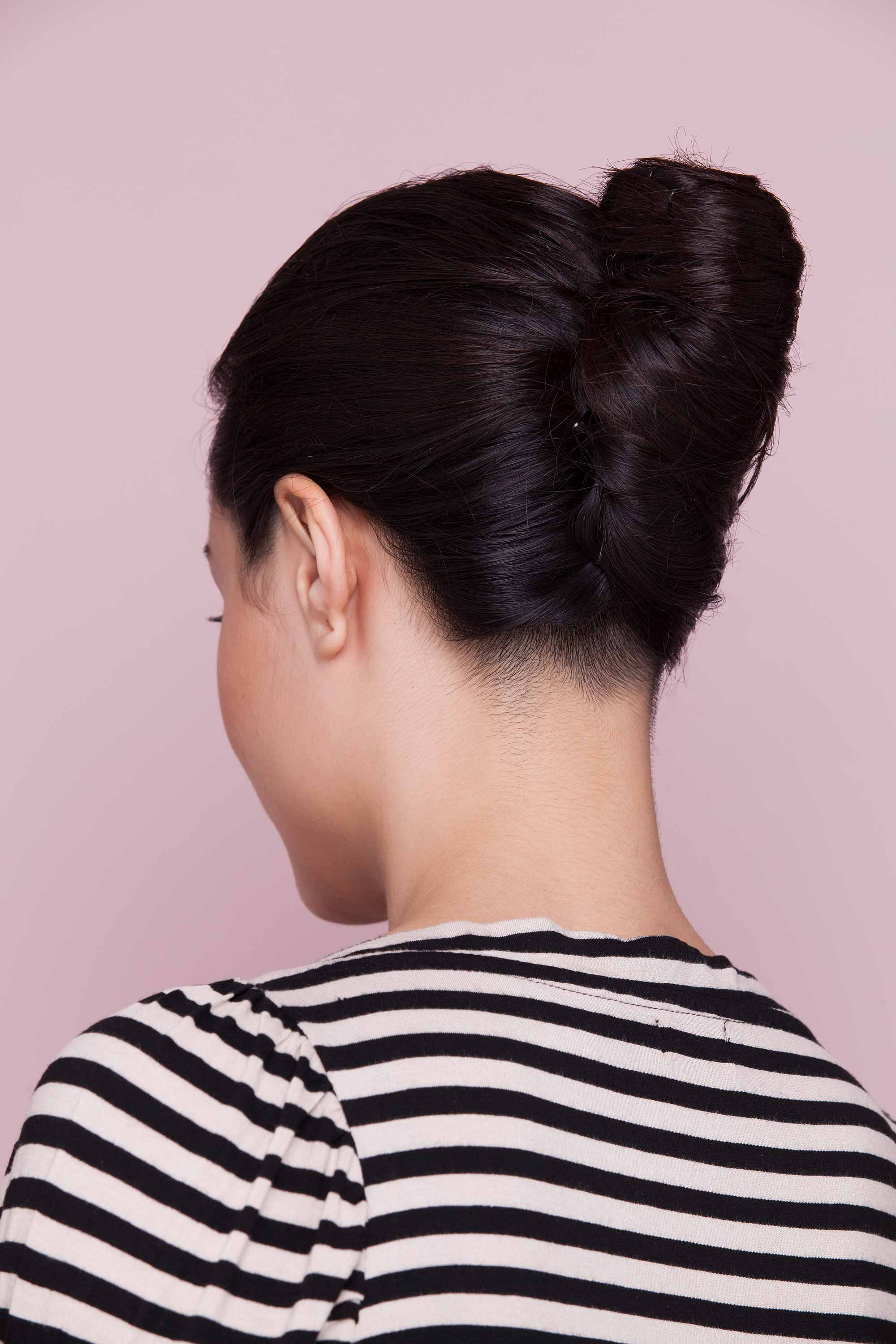 beautiful heatless hairstyles French twist