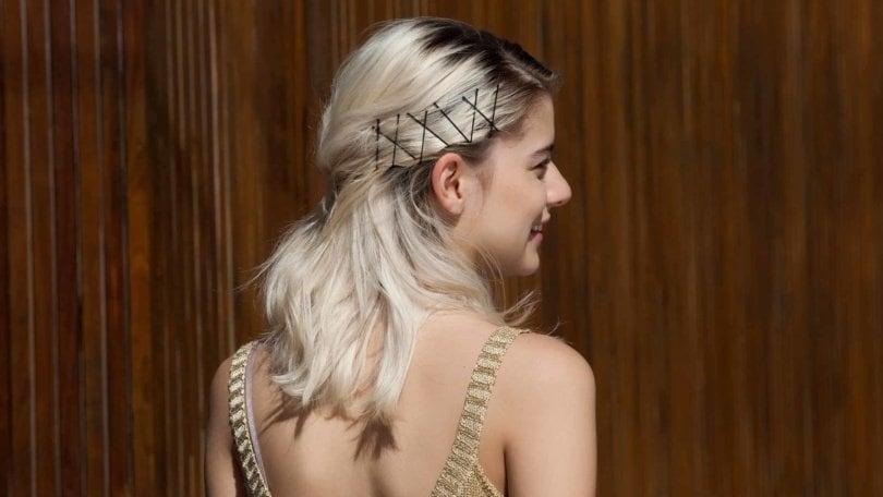 trendy bobby pin hairstyles
