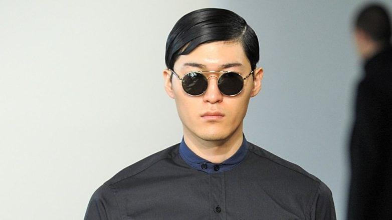 gelled comb over men's asian hair