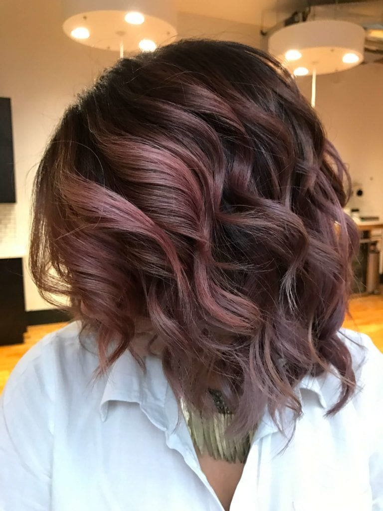 the best lowlights and highlights include mauve lowlights