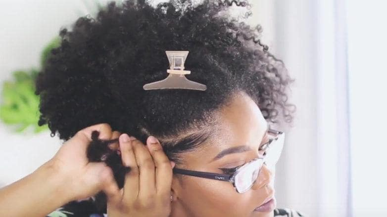 natural curly hair tutorial for Natural Curly Hair clip your hair
