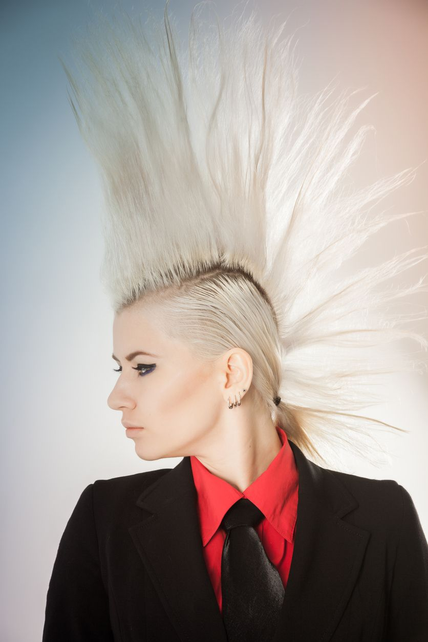 high mohawk hairstyles for women