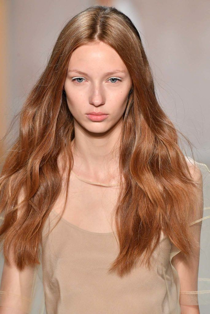 Red Hair With Highlights can look soft and ashy.