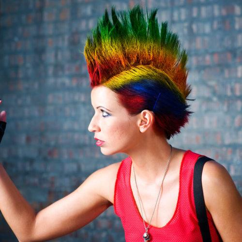 Punk Short Hairstyles Trendling Looks For Women In 2020