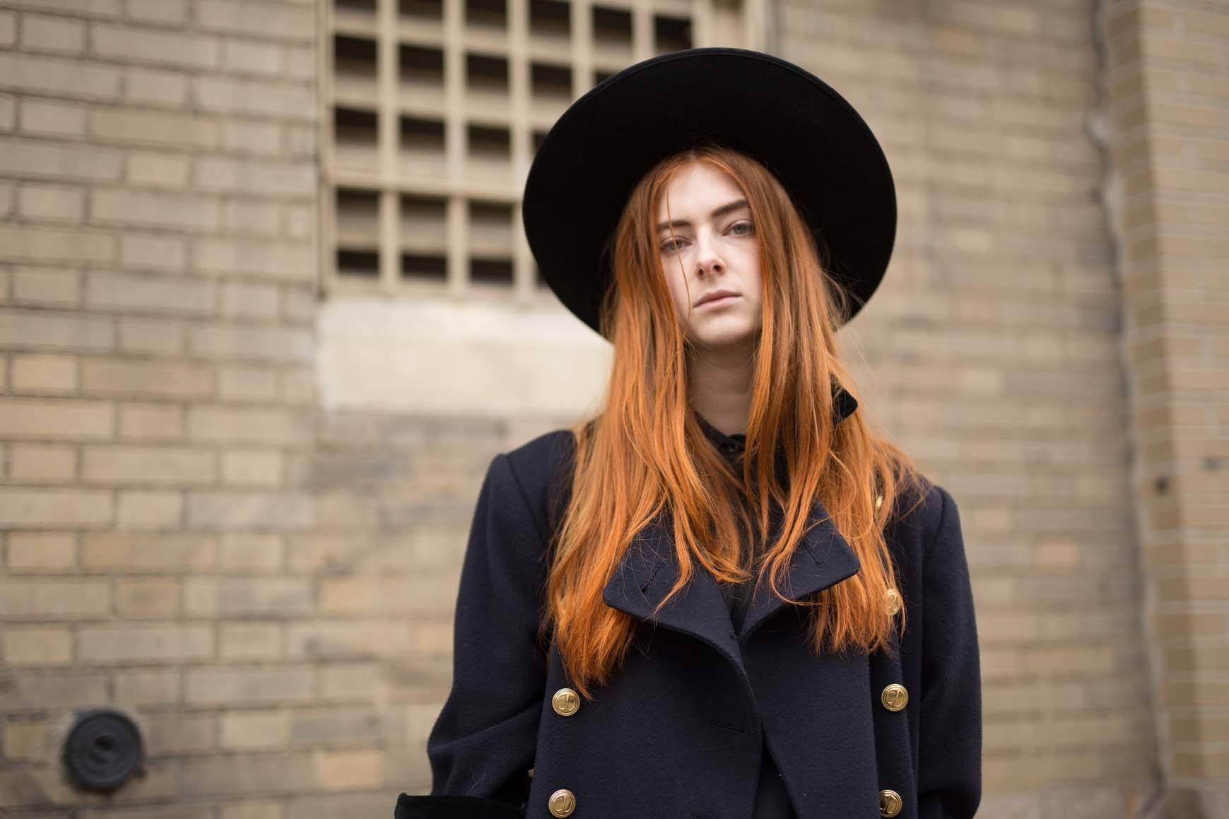 Spring Ombré looks: natural ginger ombre looks.