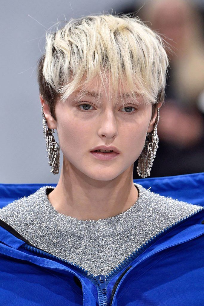 very short hairstyles with the undercut pixie