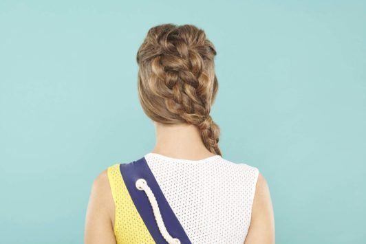 2 braids hairstyles: side braid