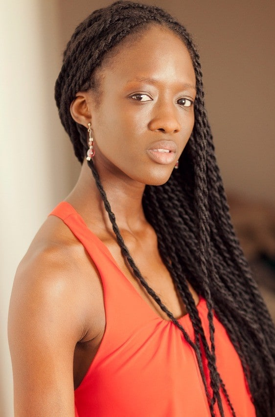 senegalese black braided hairstyles