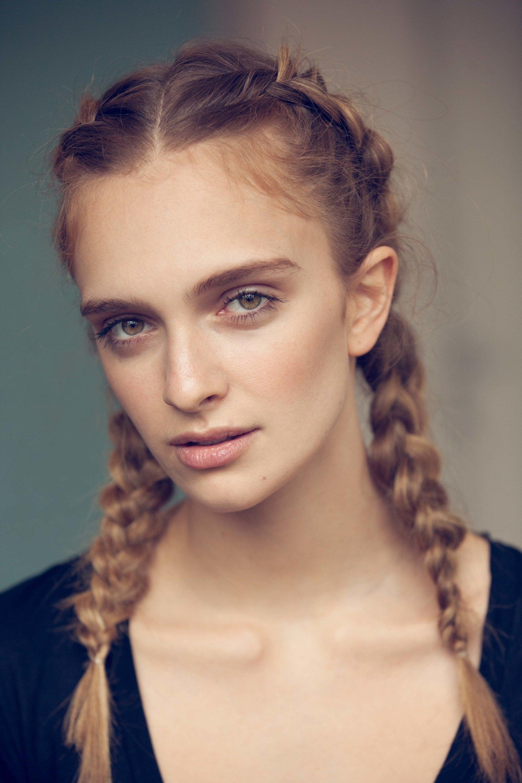classic braid hairstyles: pigtail braids