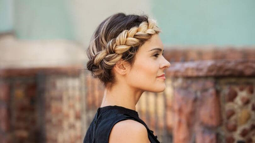 braid hairstyles 2016 with the halo braid