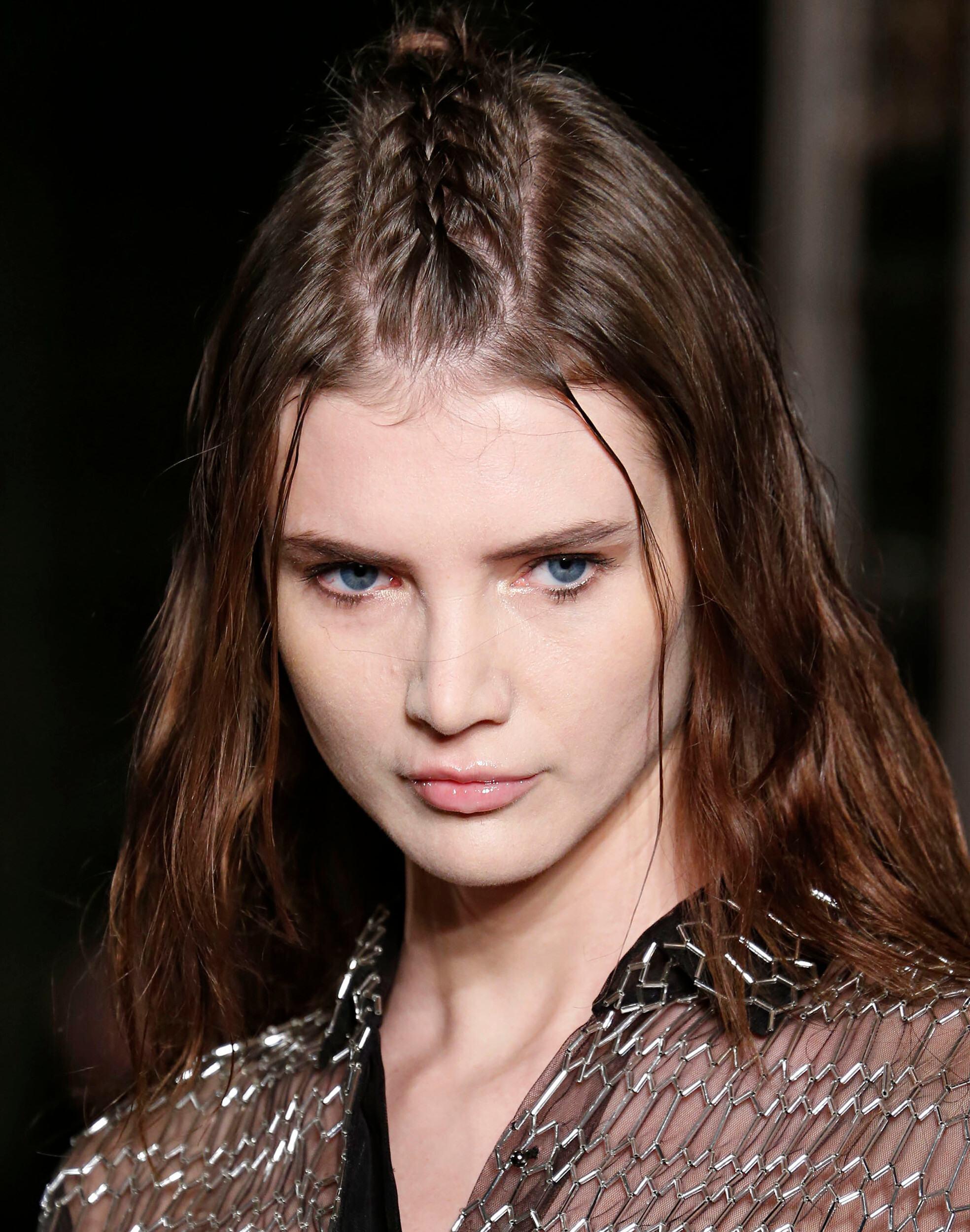 classic braid hairstyles: unicorn braid