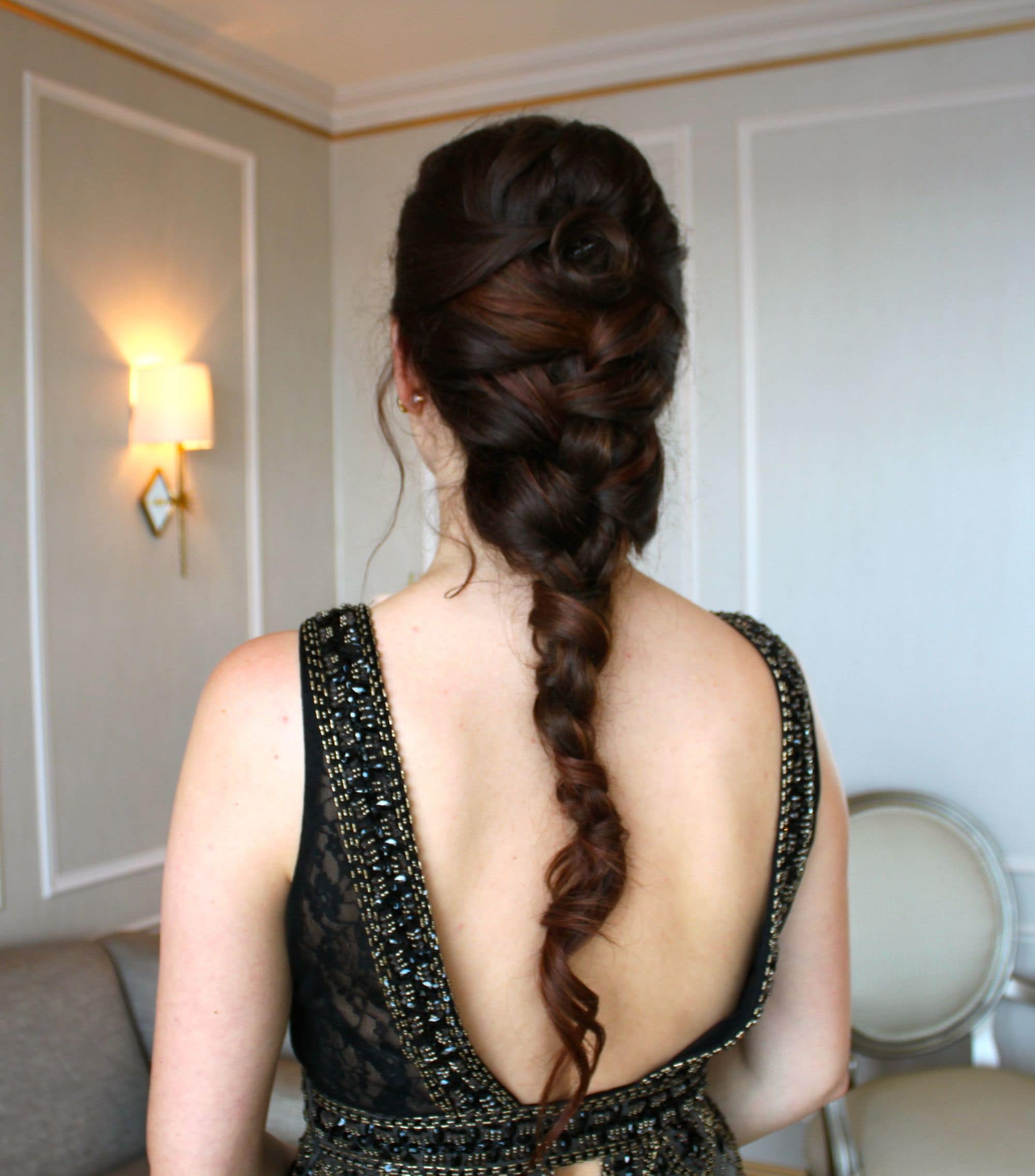 hair braiding ideas twisted braid