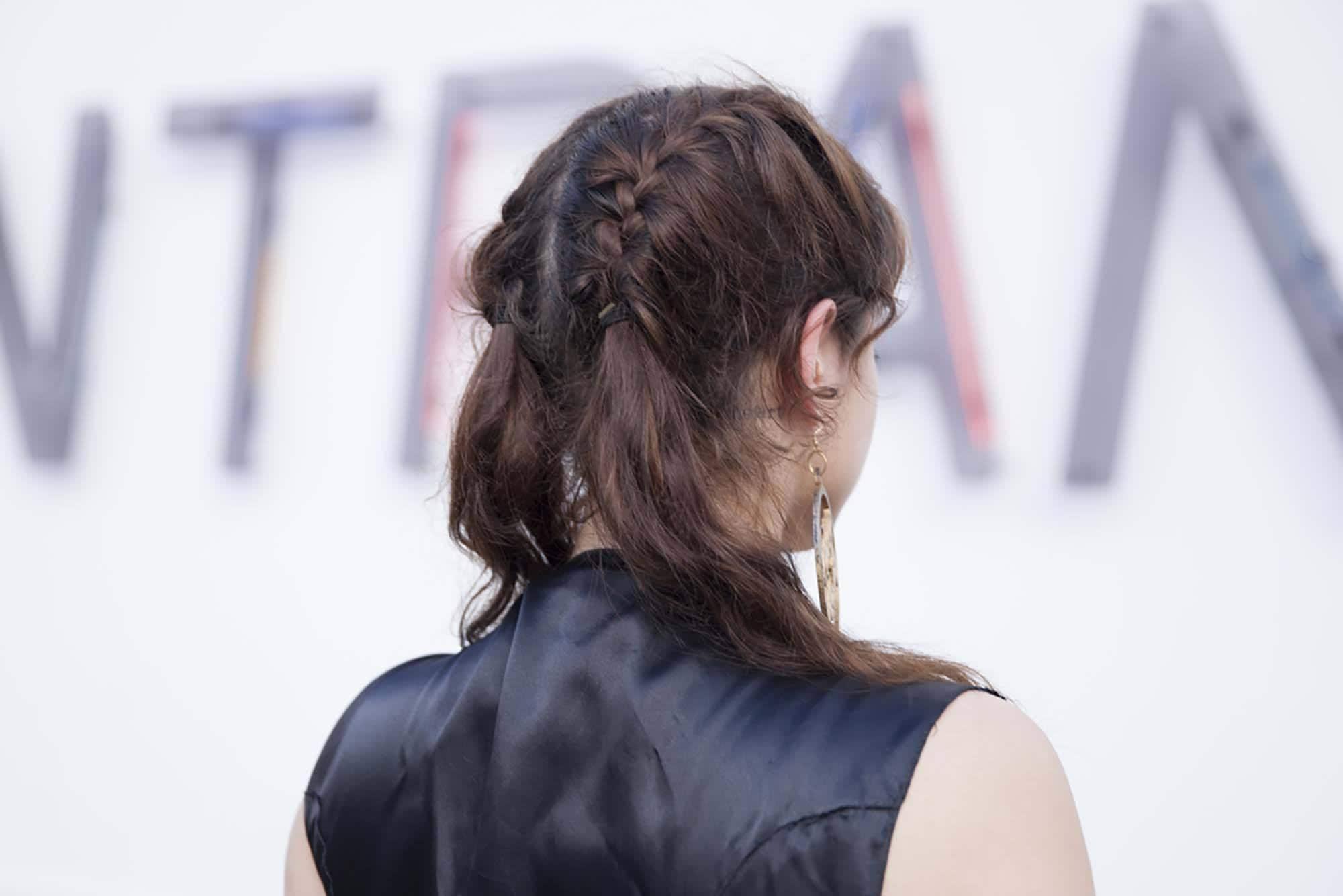 hair braiding ideas braided pigtails
