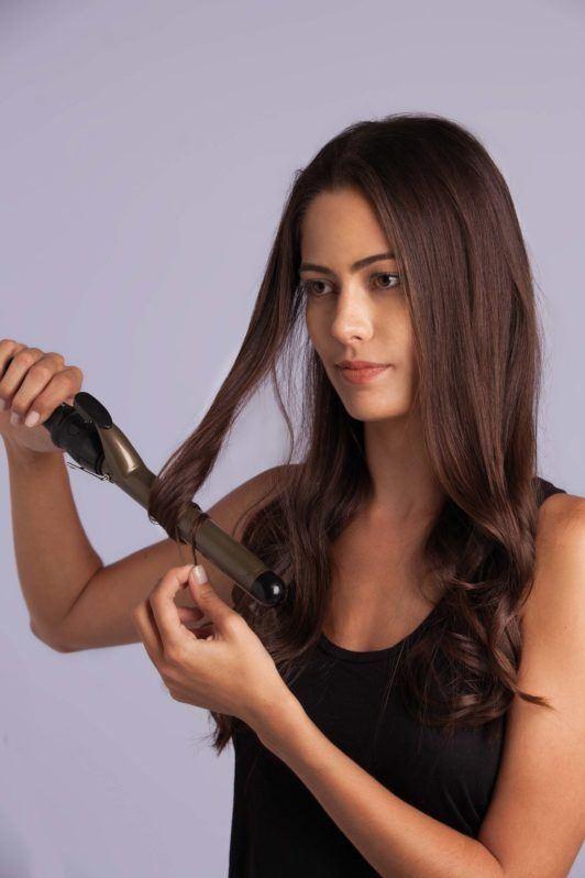 braid styles curling hair