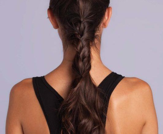 braid styles tutorial ponytail