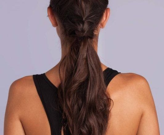 braid styles tutorial: half-up hair