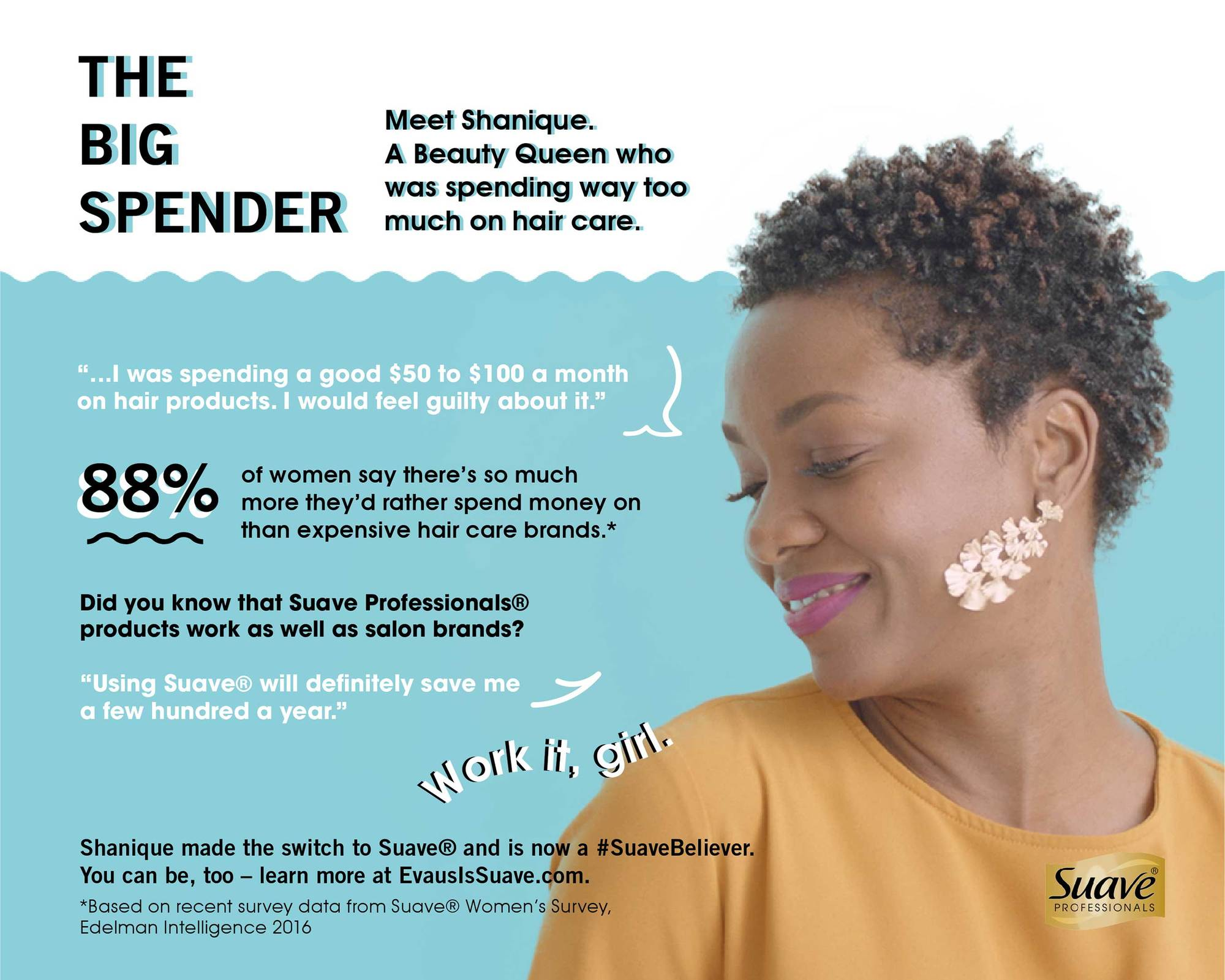 evaus infographic for natural hair women