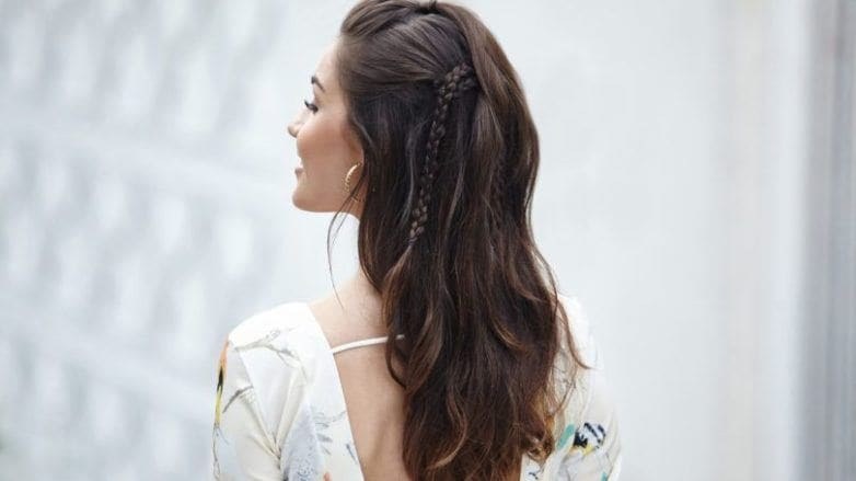 Half Up Half Down Braid Tutorial Step By Step Guide
