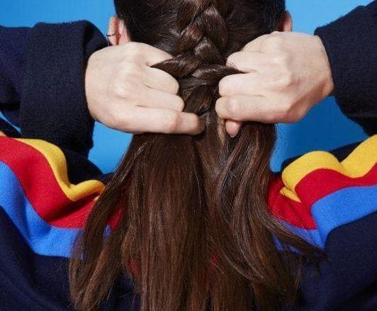 how to dutch braid continue braiding