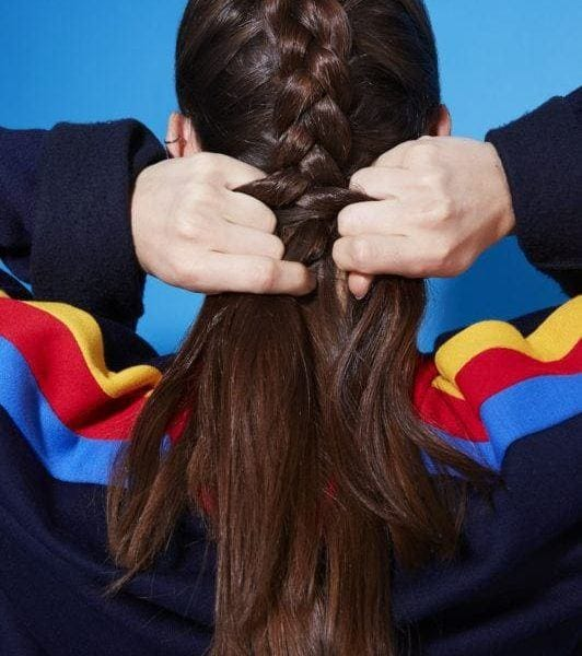how to dutch braid continue braiding