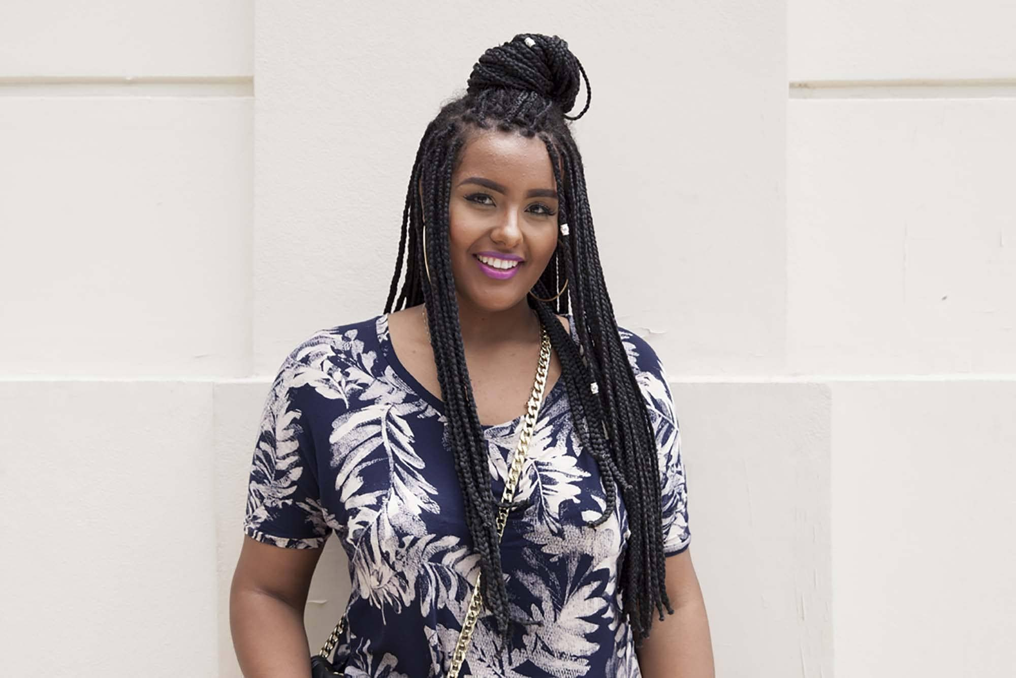 How To Style Box Braids In 5 Ways