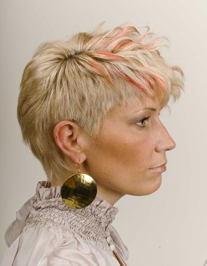 pastel hair colors: orange tips