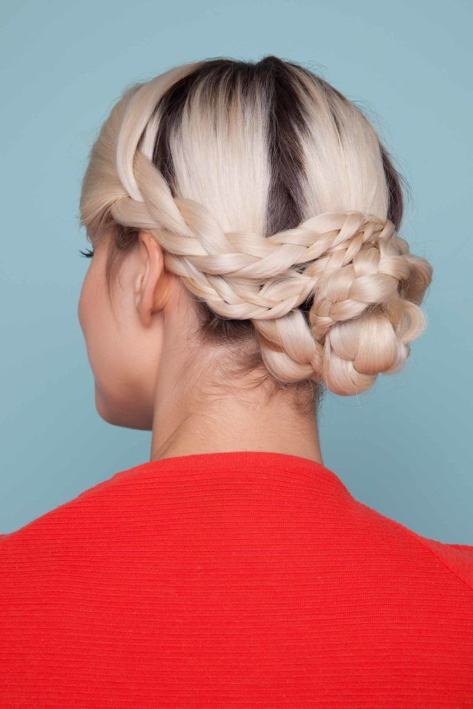 snake braid tutorial: final look