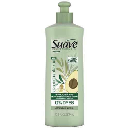 no poo leave-in conditioners: suave avocado+olive oil