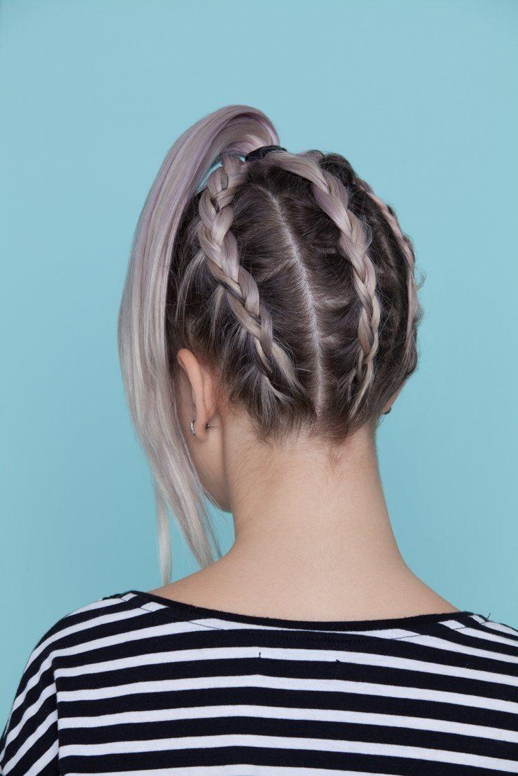 hair braiding: underneath braid