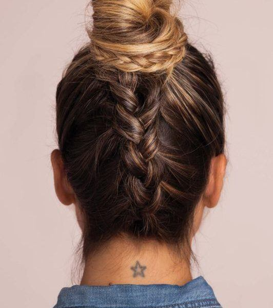 Upside Down Braid 2 Different Ways To Create This Style