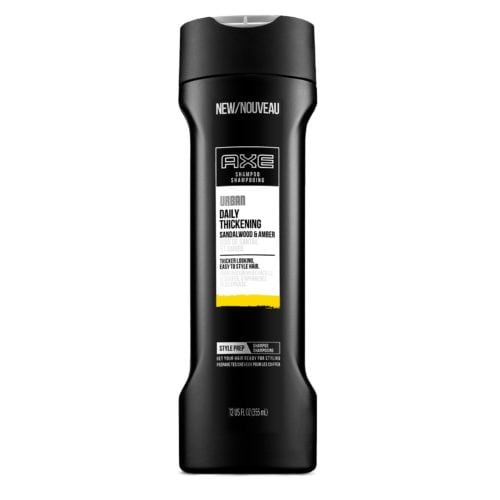 axe urban daily thickening shampoo