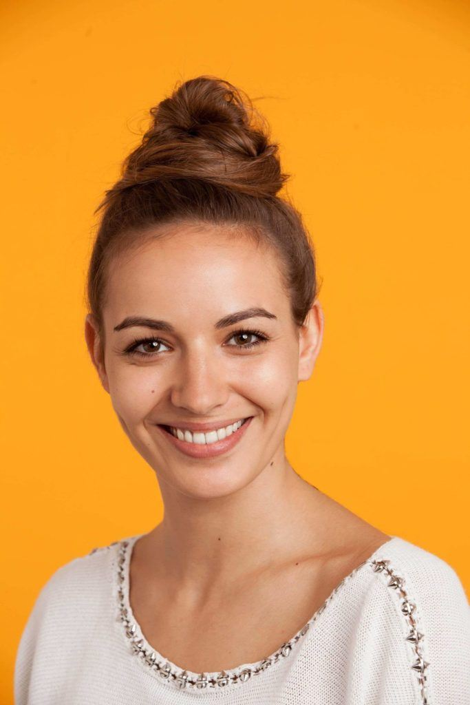 bobby pin hairstyles can help you create top knot
