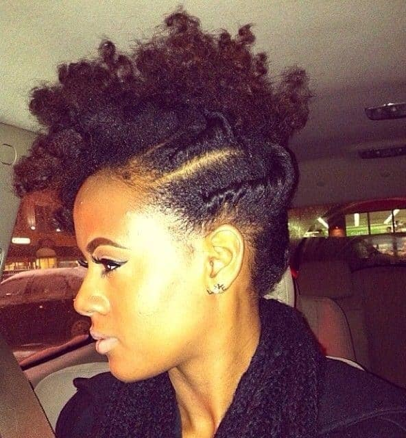 3 Best Braided Mohawk Hairstyles For Natural Hair In 2019