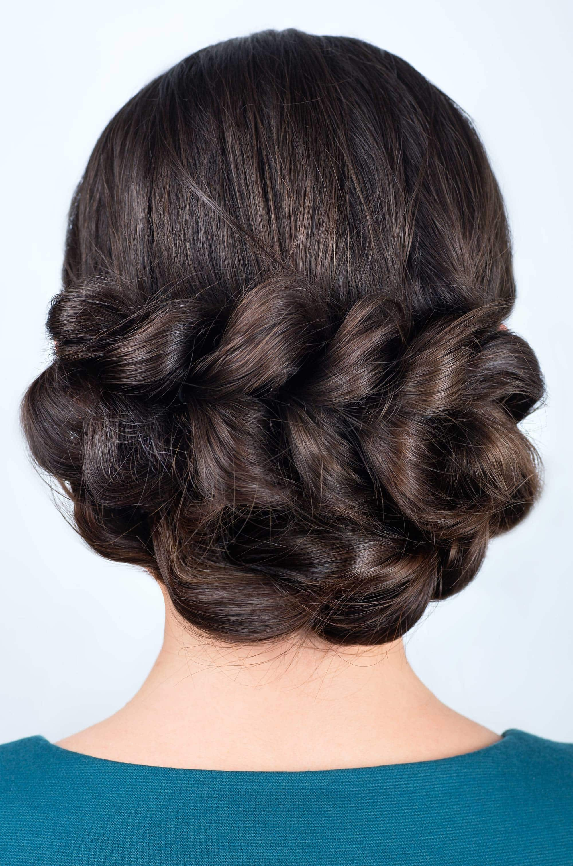 oversized braided updos for long hair