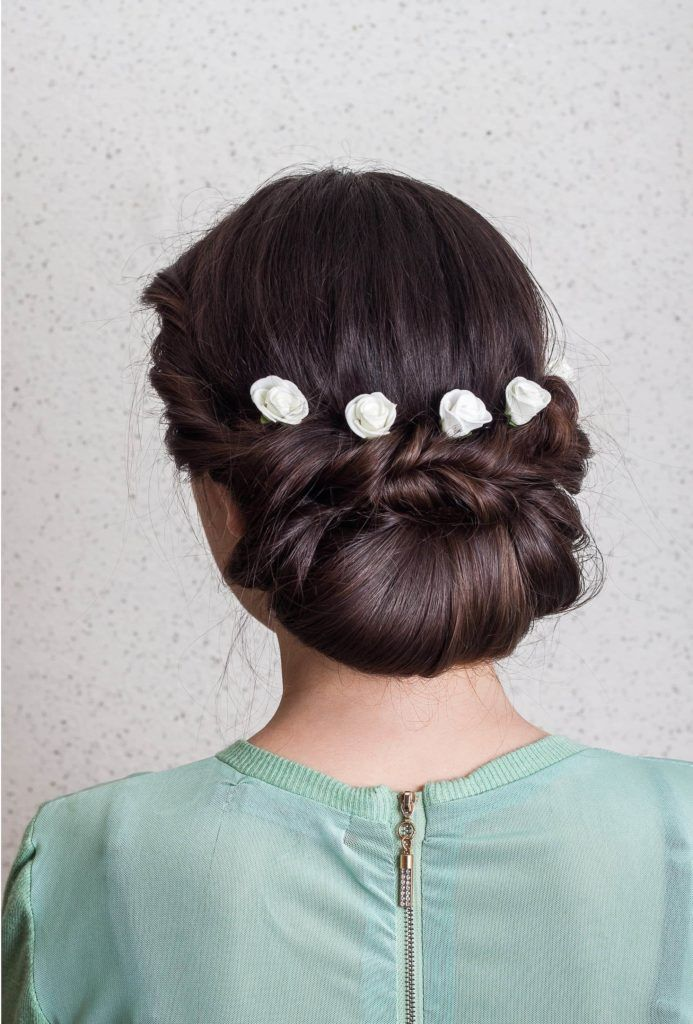 low croissant braided updos for long hair