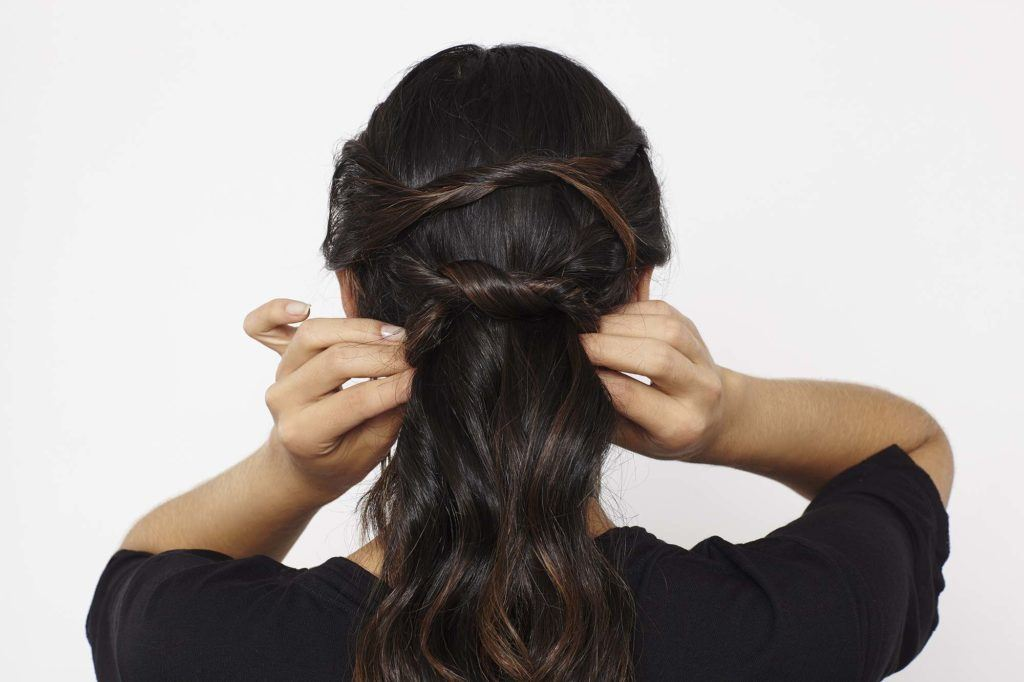The Knotted Ponytail: Your New Favorite Not-So-Basic Updo Style