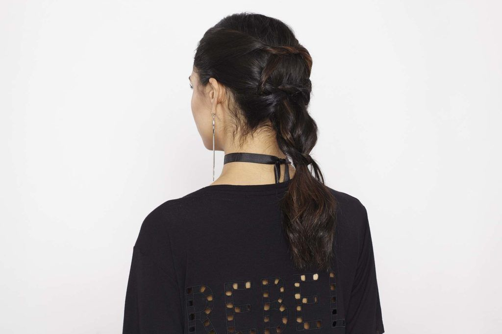 knotted ponytail hairstyle final