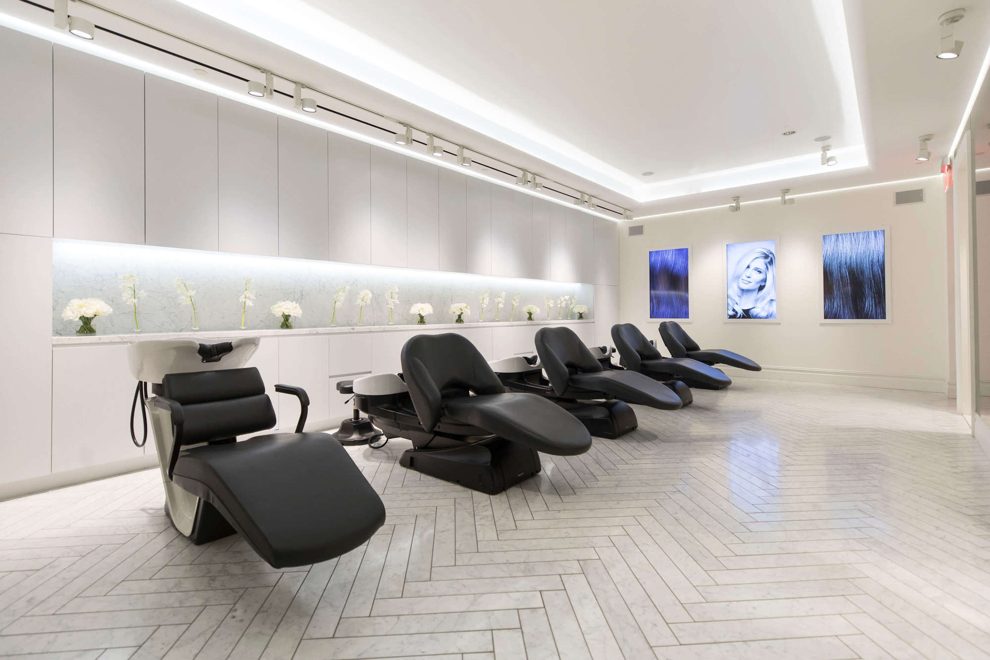 nexxus tribeca salon: washing hair