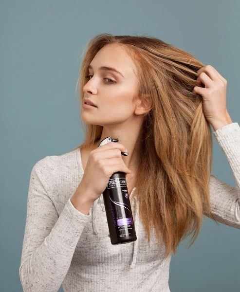 protect your beach waves hair with a heat protectant