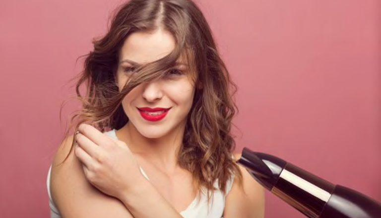 round brush blow out hair guide