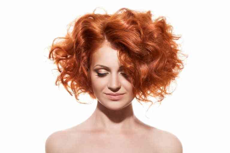 red wavy bob haircuts