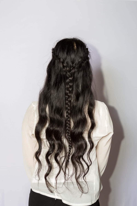 modern braided bridesmaid hairstyles