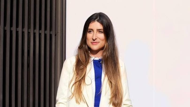 modern brown ombre hair on long hair
