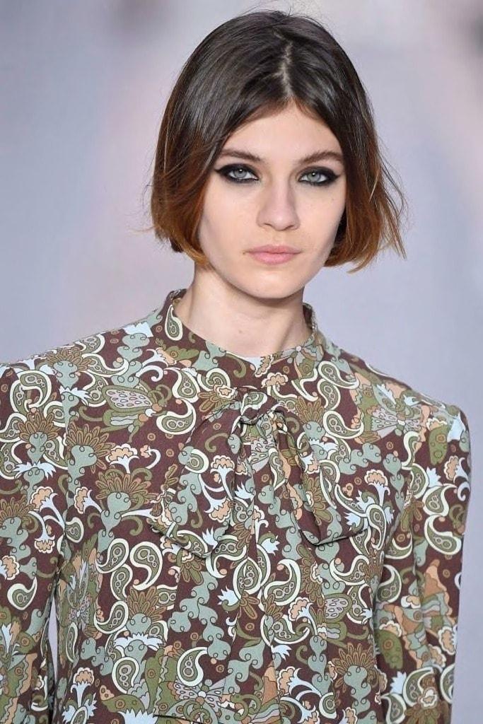 subtle brown ombre hair