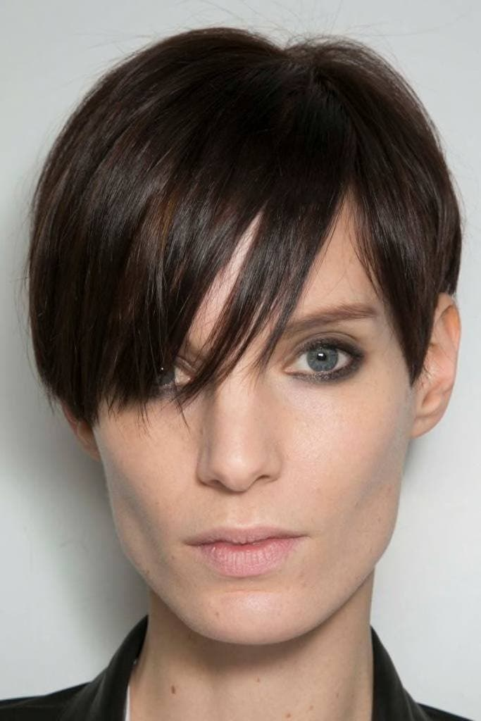 short black hair boy cut