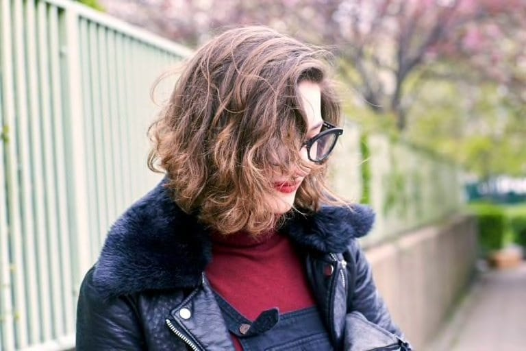 curly wedge hairstyles for long faces